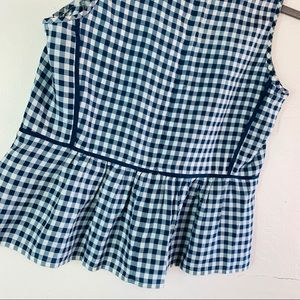 J. Crew Tops - J. Crew Checkered Top